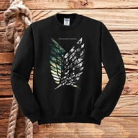 attack on titan Shingeki no Kyojin sweater unisex adults