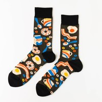 Breakfast Crew Socks