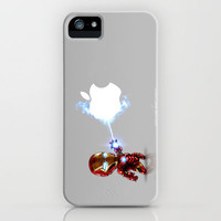 Ironman...damn apple! it's too hard to destroy!!!! iPhone Case by Emiliano Morciano (Ateyo) | Society6