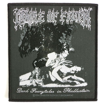CRADLE OF FILTH Faerytales Vintage Metal Woven Patch