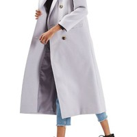 Topshop Double Breasted Coat | Nordstrom