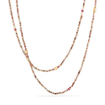 David Yurman Mustique Tweejoux Andalusite Long Beaded Necklace, 62