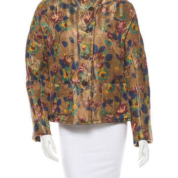 Dries Van Noten Jacquard Jacket