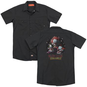 Killer Klowns From Outer Space - Killer Klowns(Back Print) Adult Work Shirt