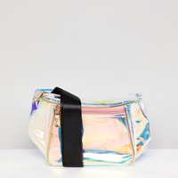 Yoki Fashion Irridescent Fanny Pack at asos.com