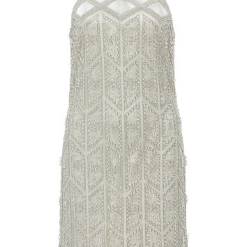 Deco Embroidered Flapper Dress | Moda Operandi