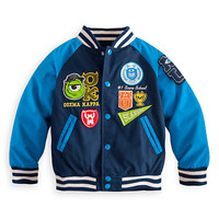 Disney Monsters University Varsity Jacket for Boys | Disney Store
