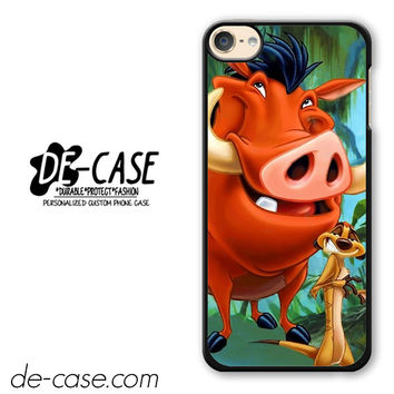 Timon And Pumba DEAL-11255 Apple Phonecase Cover For Ipod Touch 6
