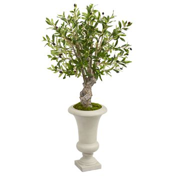 """40"""" Olive Artificial Tree in Urn"""