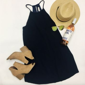Gameday Ready Dress - Navy