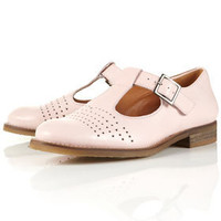 KERB2 Leather T-bar Shoes - View All - Shoes - Topshop USA