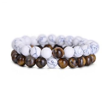 Tiger Eye Distance Bracelets