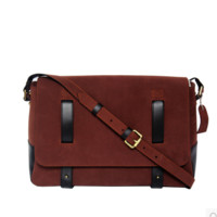 "Men's Handmade Vintage Leather Briefcase / Leather Satchel / 15"" MacBook 15"" Laptop Bag -  / Leather Messenger Bag m036"