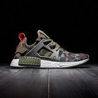 Cheap High Quality Army Green Camo NMD XR1 Duck Green Camouflage Men Running Shoes Women sports Shoe Athletic Sneakers Eur 36-44 US 5-10