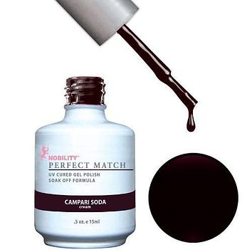 LeChat Perfect Match Gel / Lacquer Combo - Campari Soda 0.5 oz - #PMS29