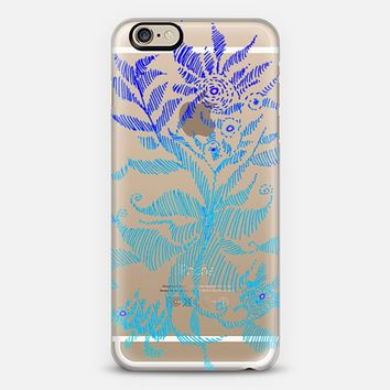 exitic flower blue iPhone 6 case by Marianna | Casetify