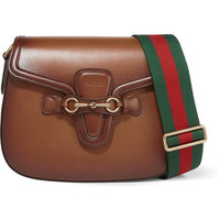 Gucci - Lady Web small leather shoulder bag
