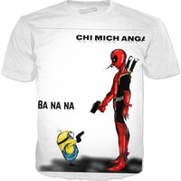 Deadpool Vs Minion