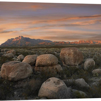 Boulders at Guadalupe Mountains National Park