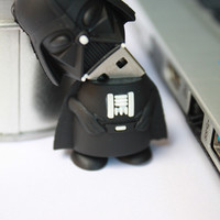 SALE30-70%OFF: 4GB Darth V Usb usb Flash Drive 4Gb , Cute Usb Flash Drive , Accessories , usb, War usb,