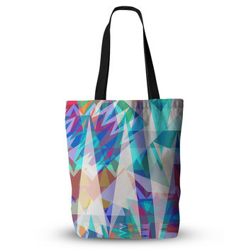 "Miranda Mol ""Triangle Party"" Multicolor  Everything Tote Bag"