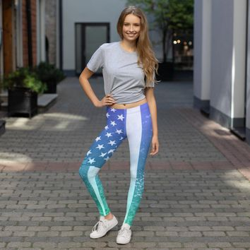 Women's All Day Comfort Independence Full Length Leggings