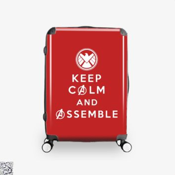 Keep Calm And Assemble, Avengers Infinity War Suitcase