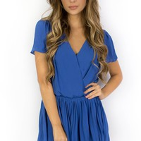 Daylight Sky Blue Romper