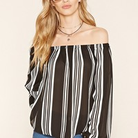 Contemporary Striped Blouse