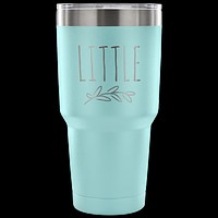 Little Big Sorority Tumbler Pledge Gift Double Wall Vacuum Insulated Hot & Cold Travel Cup 30oz BPA Free