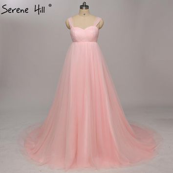 Real Picture Sexy Pregnant Photography Dresses Pleat Fashion Simple A-Line Tulle Wedding Gowns Lace Up 2017 Serene Hill