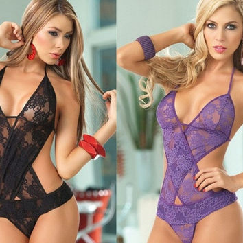 Fashion Sexy Lingerie Women's Clothing Underwear Lace Intimates Sleepwear LI = 1932513540