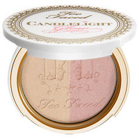 Sephora: Too Faced : Candlelight Glow Highlighting Powder Duo : luminizer-luminous-makeup
