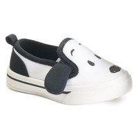 Peanuts Snoopy Toddler Boys' Canvas Shoes (Black)
