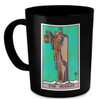The Hermit Tarot Card Coffee Cup Mug hermitmug