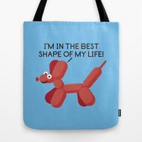 Inflated Ego Tote Bag by David Olenick