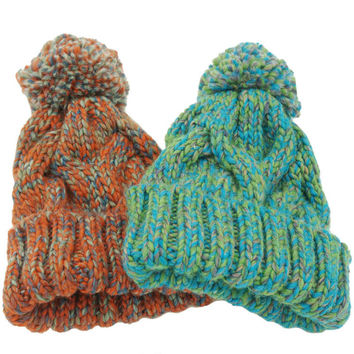 Knitted Acrylic Hats Mix Colors Skullies Beanies