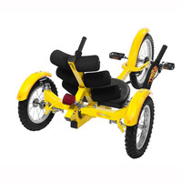 Mobo Mobito Ultimate Three-Wheeled Cruiser Bike at Brookstone—Buy Now!