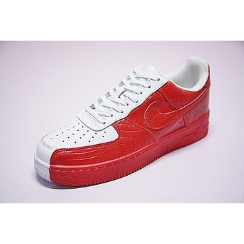 Nike Air Force 1 '07 Red/white Split 905345 005 | Best Deal Online