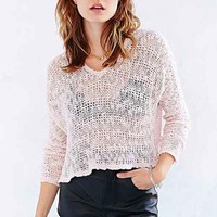 Ecote Virtual Insanity Cropped Sweater-
