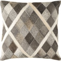 Lycaon Throw Pillow Neutral, Yellow