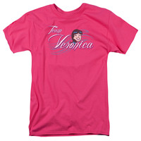 ARCHIE COMICS/TEAM VERONICA - S/S ADULT 18/1 - HOT PINK -