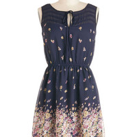 ModCloth Mid-length Sleeveless A-line Library Lingering Dress