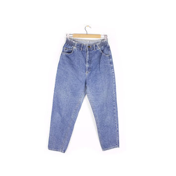 "vintage LEE mom jeans / 80s - 90s / high waisted / tapered leg / baggy / high rise waist / 28"" - 29"" waist"