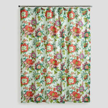 Victorian Floral Shower Curtain | World Market