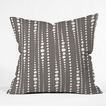 Heather Dutton Bestrewn Stone Throw Pillow