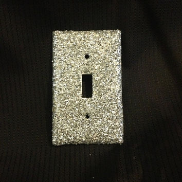 Glitter light switch cover