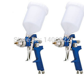 Mini HVLP Air Spray Gun 1.4mm 1.7mm Furniture Wood Automotive Primer Paint Sprayer Spray Gun