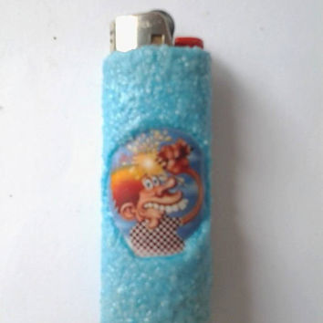Grateful Dead Ice Cream Kid Handmade Bic Lighter case