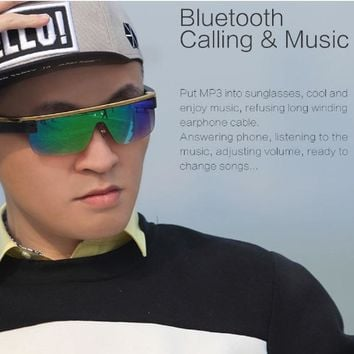 Smart Glasses with BluetoothDesign Remote Llve Streaming Sharing to Facebook Youtube